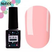 Гель-лак Kira Nails 008 ярко-розовый для френча 6 мл