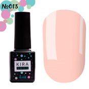 Гель-лак Kira Nails 013 светлый персиково-розовый 6 мл