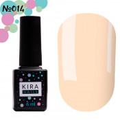 Гель-лак Kira Nails 014 кремовый 6 мл