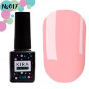 Гель-лак Kira Nails 017 розовый 6 мл