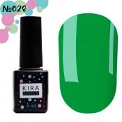Гель-лак Kira Nails 028 зеленый 6 мл