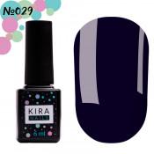 Гель-лак Kira Nails 029 сине-фиолетовый 6 мл