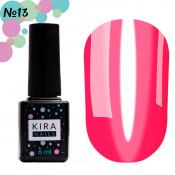Гель-лак Kira Nails Vitrage V13 розовый витражный 6 мл
