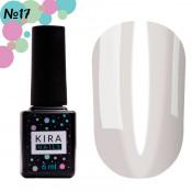 Гель-лак Kira Nails Vitrage V17 молочный витражный 6 мл