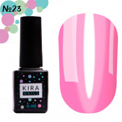 Гель-лак Kira Nails Vitrage V23 фуксия витражный 6 мл