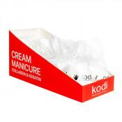 Набор коллагеновых перчаток для маникюра Kodi с эмульсией 10 шт.