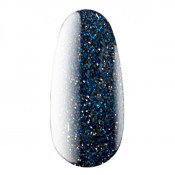 Светоотражающий гель-лак Kodi Diamond sky 015 с синими и серебристыми мерцающими частицами 7 мл