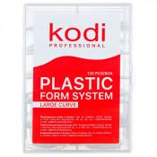 Верхние формы для полигеля Kodi Large Curve 120 шт.