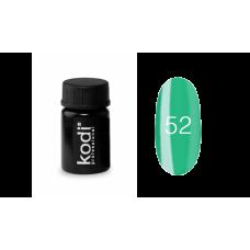 Гель-краска Kodi (Коди) 52 ярко-зелёная