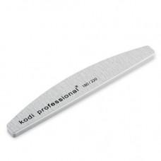 Пилка-баф для ногтей Kodi Half Grey 180/220
