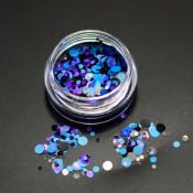 Камифубуки фиолетово-черные микс 10