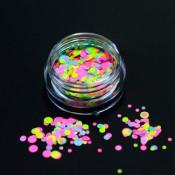 Камифубуки розово-салатовые микс 15