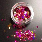Камифубуки розово-золотые микс 03