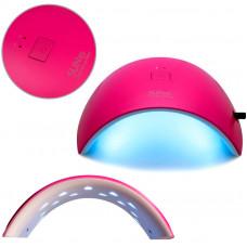 Розовая глянцевая лампа Sun 9c Uv LED 24W