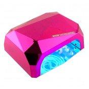 Лампа Diamond 36w (CCFL-LED) Розовая
