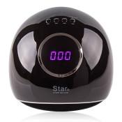 УФ LED лампа Star 5 72 Вт черная