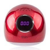 УФ LED лампа Star 5 72 Вт красная