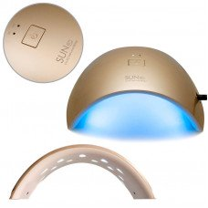 Золотая глянцевая лампа Sun 9c Uv LED 24W