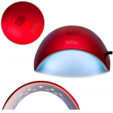 Красная глянцевая лампа Sun 9c Uv LED 24W