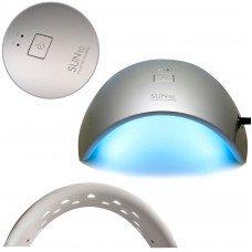 Серебристая глянцевая лампа Sun 9c Uv LED 24W