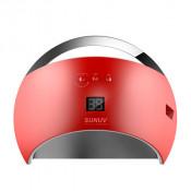 Лампа Sun 6 UV LED 48w красная