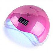 УФ LED лампа Sun 5 Mirror Pink 48 Вт