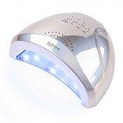 SunOne Mirror УФ LED лампа 48Вт и 24ВТ 2 в 1 зеркальная серебристая
