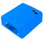УФ лампа для маникюра JD 818 36 Вт синяя