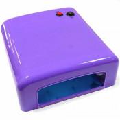 УФ лампа для маникюра JD 818 36 Вт фиолетовая