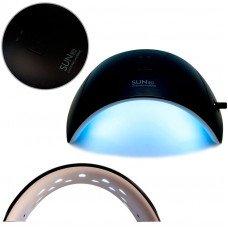 Чёрная глянцевая лампа Sun 9c Uv LED 24W