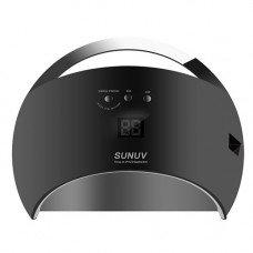 UV LED Лампа Sun 6 48 Вт черная