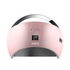 UV LED Лампа Sun 6 48 Вт розовая