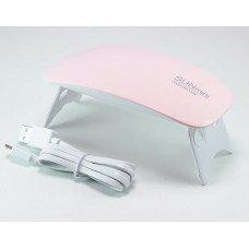 UV LED Лампа Sun mini 6w розовая
