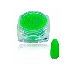 Зеленый яркий Меланж для ногтей 02, 2 г