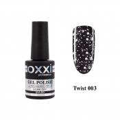 Топ с белой крошкой Oxxi Twist Top 003 10 мл без липкого слоя