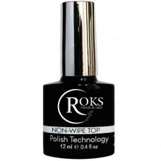 Топ Roks (Опиум) 12 мл без липкого слоя, топовое покрытие для ногтей