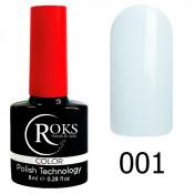 Гель-лак Roks Color 001 Белый