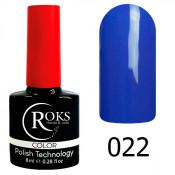 Гель-лак Roks Color 022 Васильково-фиолетовый