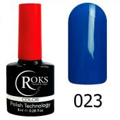 Гель-лак Roks Color 023 Тёмно-синий
