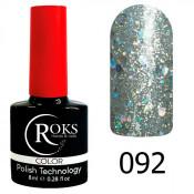 Гель-лак Roks Color 092 Бриллиантовые брызги
