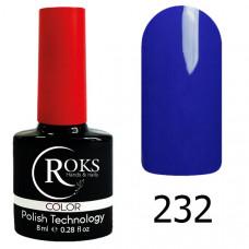 Гель-лак Roks 232 серии Color 8 мл