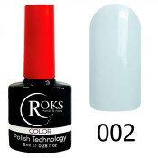 Гель-лак Roks Color 002 Бело-молочный