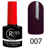 Гель-лак Roks Color 007 Бордо-шоколад