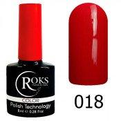Гель-лак Roks Color 018