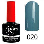 Гель-лак Roks Color 020 Серый