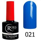 Гель-лак Roks Color 021 Темно-васильковый