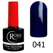 Гель-лак Roks Color 041 Светло-черничный