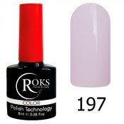 Гель-лак Roks Color 197 Лилово-молочный