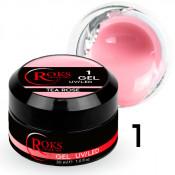 Камуфлирующий гель Roks (Opium) 001 чайная роза 30 грамм