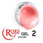 Камуфлирующий гель Roks (Opium) 002 нежный персик 50 грамм